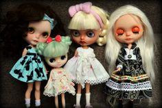 Blythe Dolls New dresses all round