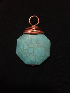 Copper and tourquoise