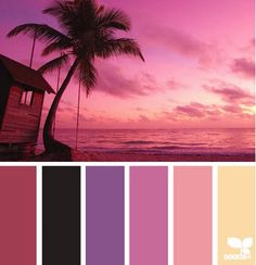 Coastal and Beach Decor Color Palette