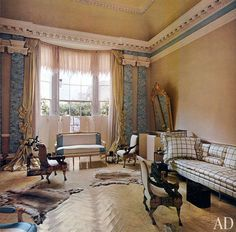 AD Revisits: Pauline de Rothschild's Secluded London Apartment Photos | Architectural Digest