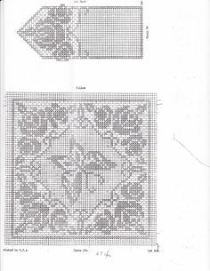 Filet Crochet Pillow and Chair Set by Alice Brooks No. 5913 - diamondinapril - Picasa Webalbumok