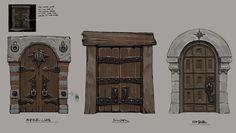 Jonathan Kirtz - Dungeon Hunter 5 - Valenthia doors.jpg