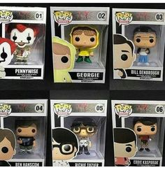 Where are the other 4 losers Pop Figures, Action Figures, Stranger Things, Funko Pop, It The Clown Movie, Le Clown, Pennywise The Dancing Clown, It Movie Cast, Pop Vinyl
