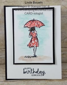Linda Bauwin Your CARD-iologist Helping you create cards. #suwatercolorpencils #lindabauwin