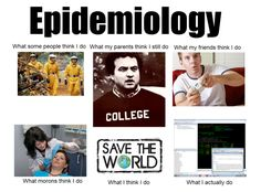 Epidemiology (Hint: it's NOT dermatology)..one of the hardest (not just memorizing but applying logic/concepts and math/science)