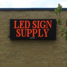 Led Sign Supply Developed An Outstanding Retion For All Types Of Premium Indoor Outdoor Mobile Signs Billboards Electronic