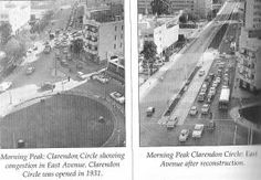 Clarendon Circle before and after Johannesburg City, Historical Pictures, African History, Live, South Africa, Landscape Photography, City Photo, The Past, World