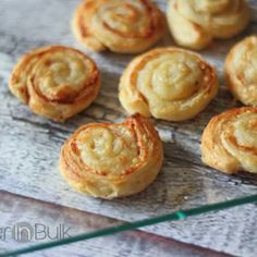Ham and Pepper Jack Pinwheels #PuffPastry