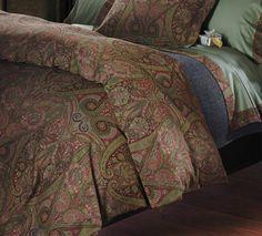 Orsini Cotton Sateen Jacquard Duvet Cover