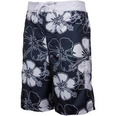 Dallas Cowboys Hawaiian Print Swim Shorts