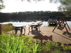 a relaxing spot by the water. lakeowenresort.com