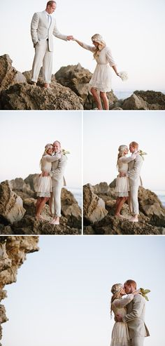 Jessica Kettle Photography: amy + travis  newport beach elopement  orange county wedding photographer