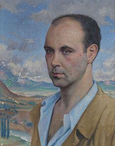 Self Portrait, 1939 by Gerardo Sacristán Torralba (Spanish, 1907 - 1964)