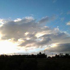Marbella, morning, skyline, wonderful, blue, cloud.