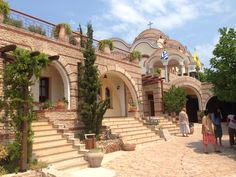 Monastery Archangelos at Thassos