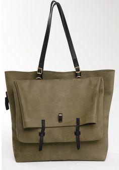 Olive Cooper Ganton Bag - Nubuck