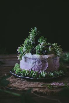 Oregano Honey Cake With Blackberry Buttercream + A Cookbook. So this is apparently real
