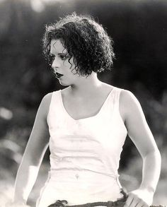 Clara Bow in 1927 - Stunning!!!  With her perm curled wet hair.  My grandmother's era.