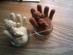 Zwaantje Creatief: Daar is tie dan ! Mijn gratis patroon hand met een...