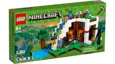Free ship - lego minecraft the waterfall base - 21134 (new box) by LEGO Complete Sets & Packs category. - Use your Minecraft creativity and know-how to build the ul. Lego Minecraft, Construction Minecraft, Video Minecraft, Minecraft Buildings, Minecraft Stuff, Minecraft Party, Minecraft Skins, Legos, Figuras Wwe