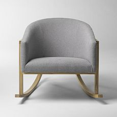 West Elm... $599---this would be so cute instead of a glider  in a nursery