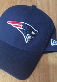 best website 5ba5a c7bd1 New Era New England Patriots Mens Navy Blue Team Classic 39THIRTY Flex Hat  - 5905901