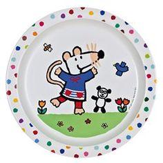 Assiette bébé Mimi la souris PETIT JOUR PARIS - Vaisselle bébé