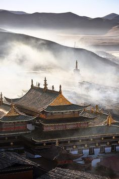 Tibeten Buddhist Temple, China