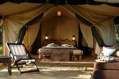 Guest Tent - Interior