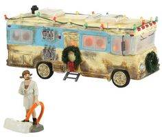 department 56 original snow village cousin eddies rv lit house christmas vacation collectibles christmas gifts