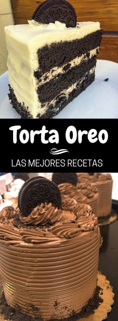 ▷ TORTA OREO recipe EASY and the best recipes with the famous cookie- ▷ TORTA OREO receta FÁCIL y las mejores recetas con la famosa galleta The best recipes from TARTA OREO come and discover them want - Oreo Torta, Cookie Recipes, Dessert Recipes, Cake Illustration, New Cake, Vegan Cake, Sweet Cakes, Food Cakes, Christmas Desserts