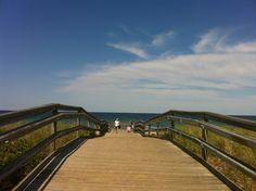 Duxbury Beach in Duxbury, MA