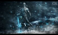 The white Walker - ilustration that I did to a challenge for the THU event you can check out more in my website: http://www.behance.net/Davisart
