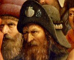 Jan van Eyck, Genter Altar, Detail