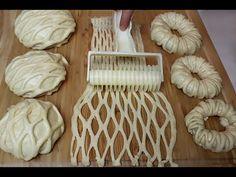 ZİRVE YAPAN YUMUŞACIK POĞAÇA 💯 ŞERİT POĞAÇA 💯 PAMUK POĞAÇA TARİFİ - YouTube Donut Recipes, Chef Recipes, Bread Recipes, Cooking Recipes, Pasta Recipes, Best Homemade Bread Recipe, Homemade Sandwich, Cranberry Bread, Cranberry Cheese
