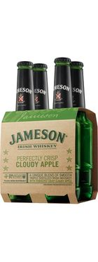 Jameson Irish Whiskey & Cloudy Apple. The hubby would be in heavennn