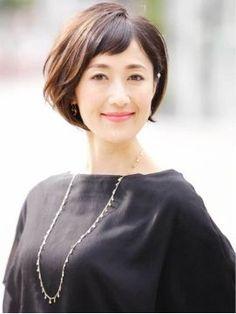 上品な40・50代からのベストヘアカタログ【2018 春夏 人気髪型】 - NAVER まとめ
