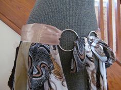 OOAK Bustle Skirt Belt Overskirt Tribal Style with by GaleFridays