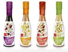 Jam Packaging, Food Packaging Design, Packaging Design Inspiration, Branding Design, Brand Packaging, Pretty Packaging, Dressings, Label Design, Package Design