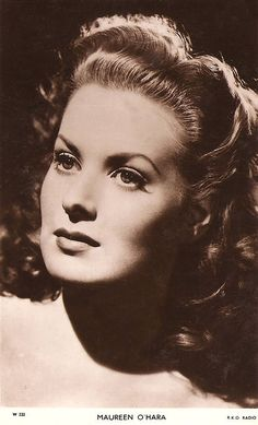 Maureen O'Hara... She was in the original The Parent Trap