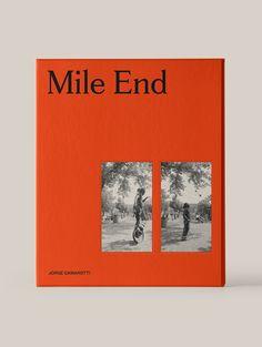 Mile End, by Maude Paquette-Boulva - Magazin Poster Sport, Poster Cars, Poster Retro, Design Poster, Graphic Design Layouts, Book Design Layout, Graphic Design Inspiration, Design Art, Make A Book Cover