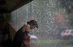 heavy rain homeless woman | Hurricane Isaac expected to hit New Orleans on Katrina anniversary | National Post