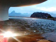 Contemporary Art Museum (MAC) - Niteroi - Rio de Janeiro - Brazil Art Museum, Airplane View, Contemporary Art, My Photos, Mac, Museum Of Art, Modern Art, Poppy, Contemporary Artwork