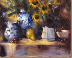 Sunflowers_and_Cherries by Jodi Armstrong