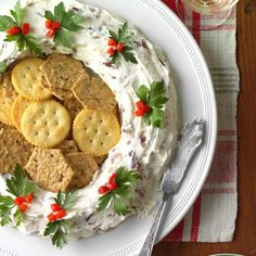 Bacon Cheese Wreath Best Christmas Appetizers, Best Christmas Recipes, Christmas Snacks, Christmas Cooking, Appetizers For Party, Appetizer Recipes, Holiday Recipes, Christmas Eve, Appetizer Ideas