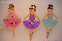 Crafts: Ballerina Craft