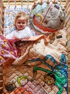 How adorable is this new collection of bedding from Kip & Co? The housewares label is celebrating the 100 year birthday of Australian children's author May Gibbs' iconic storybook characters in the form of pillows, quilts and sheets. I'm not familiar with May's books but I learned that she was