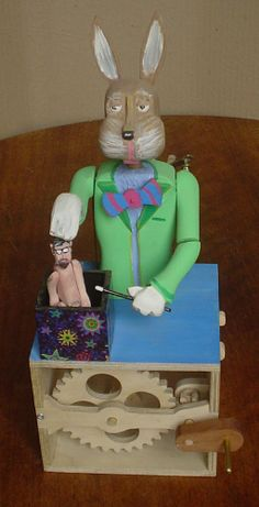 "Peter Lennertz - Magician Rabbit (pulling Paul Spooner out the ""hat"")."