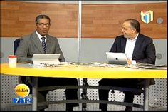 Huchi Lora y Javier Cabreja comentan sobre los limpiavidrios y los agentes de AMET