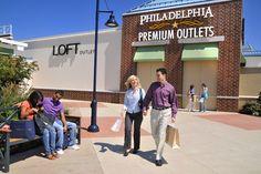 Philadelphia Premium Outlets  #SEPTA Routes: Market-Frankford Line + Regional Rail Norristown Line + bus 93